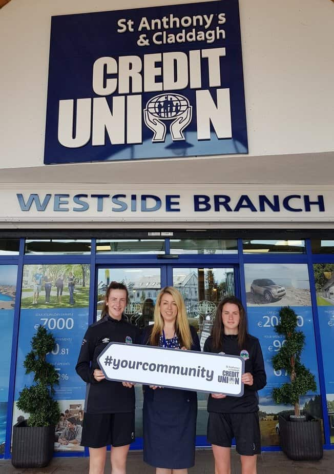 St Anthonys And Claddagh Credit Union Joins Forces With